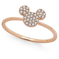 Mickey Mouse Icon Bracelet by CRISLU - Rose Gold