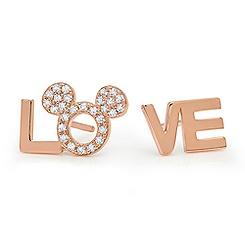 Love Mickey Stud Earrings by CRISLU