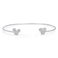 Mickey and Minnie Mouse Bangle by CRISLU