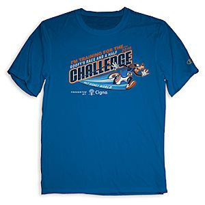 Goofy's Race and a Half Challenge Tee for Adults - RunDisney 2016