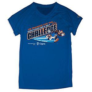 Goofy's Race and a Half Challenge Tee for Women - RunDisney 2016
