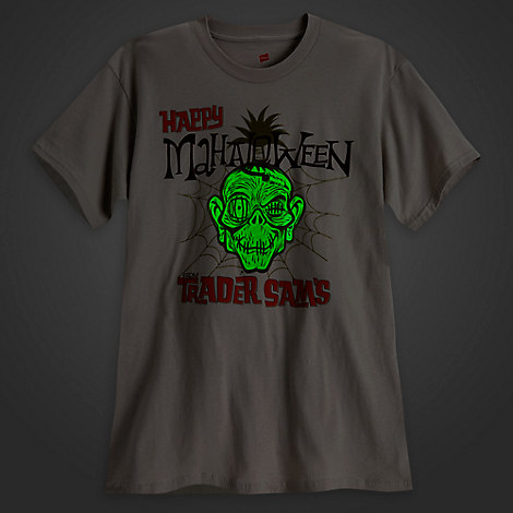 Trader Sam's ''Mahaloween'' Tee for Adults - Limited Release