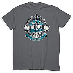 Mickey Mouse Disney Vacation Club Tee for Adults - 25th Anni. - Limited Release