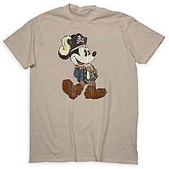 Mickey Mouse Pirates of the Caribbean Tee for Adults - Limited Release