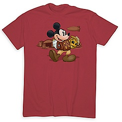 Mickey Mouse as The Rocketeer Tee for Adults - Limited Release