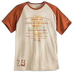 Orange Bird Sunshine Tree Terrace Tee for Men - Twenty Eight & Main - Ltd.
