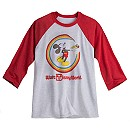 Mickey Mouse Rainbow Raglan Tee for Adults - Walt Disney World - Limited Release