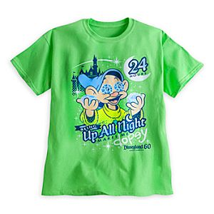 Dopey ''Up All Night'' Tee for Kids - Disneyland - Limited Availability