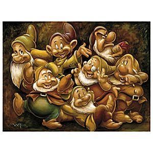 Seven Dwarfs Giclée by Darren Wilson