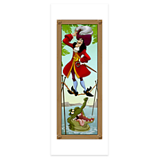 Captain Hook Poster - The Haunted Mansion - Limited Availability