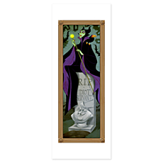 Maleficent Poster - The Haunted Mansion