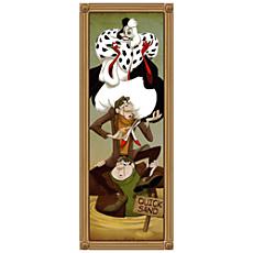 Cruella De Vil Giclée on Canvas - The Haunted Mansion