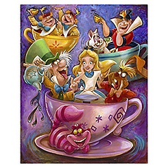 ''Alice in a Teacup'' Giclée by Darren Wilson