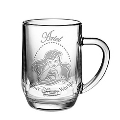 Personalizable Glass Ariel Mug by Arribas