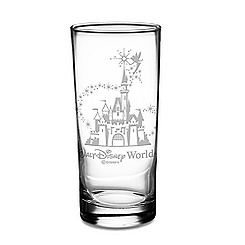 Walt Disney World Castle and Tinker Bell Tumbler by Arribas