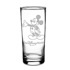 Mickey Mouse Glass Tumbler by Arribas