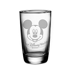 Personalizable Mickey Mouse Juice Glass by Arribas