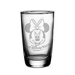 Minnie Mouse Juice Glass by Arribas - Personalizable