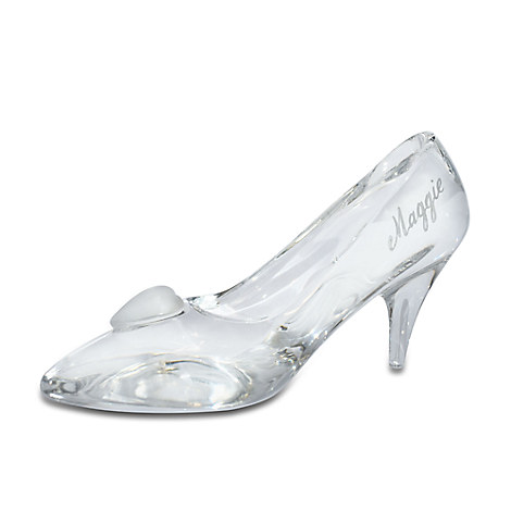Cinderella Glass Slipper by Arribas - Large - Personalizable