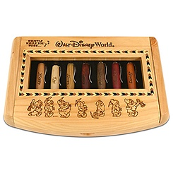 Personalizable Seven Dwarfs Pen Set by Arribas - 7-Pc.