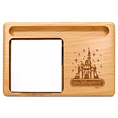 Walt Disney World Cinderella Castle Memo Holder by Arribas