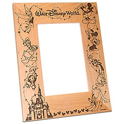 Walt Disney World Cinderella Castle Photo Frame - 4'' x 6''