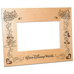 Walt Disney World Mickey Minnie Wedding Photo Frame