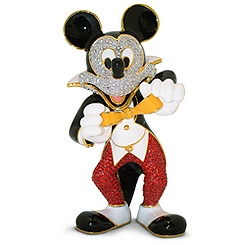 Tuxedo Mickey Mouse Jeweled Figurine by Arribas