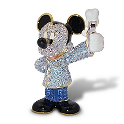 Dentist Mickey Mouse Jeweled Figurine by Arribas