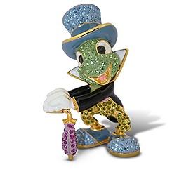 Jiminy Cricket Figurine by Arribas - Jeweled 3'' H