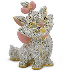 Aristocats Marie Jeweled Figurine by Arribas