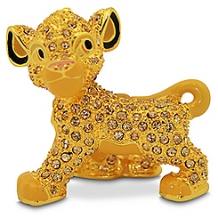 Jeweled The Lion King Figurine by Arribas -- Simba