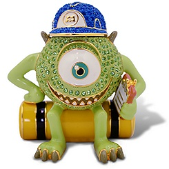 Limited Edition Mike Wazowski Jeweled Figurine by Arribas
