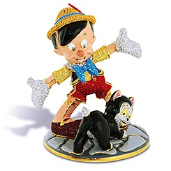 Pinocchio and Figaro Figurine
