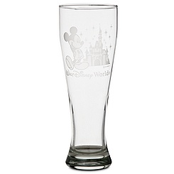 Mickey Mouse Pilsner Glass by Arribas
