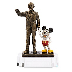 Walt Disney and Mickey Mouse ''Partners'' Figure by Arribas Brothers - LE