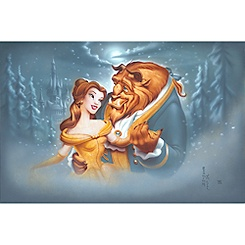 ''Evening Waltz'' Beauty and the Beast Giclée by Noah