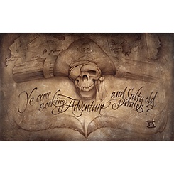 Pirates of the Caribbean ''High Seas Adventure'' Giclée by Noah