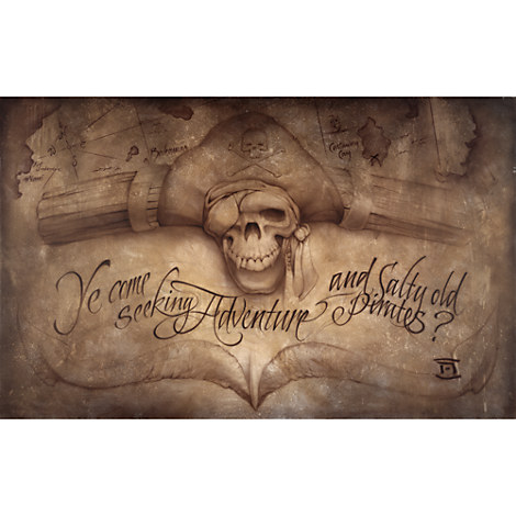 Pirates Of The Caribbean High Seas Adventure Gicl 233 E By