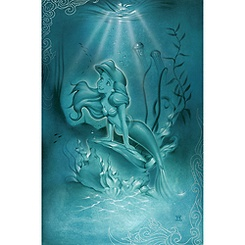 Ariel ''Little Mermaid'' Giclée by Noah
