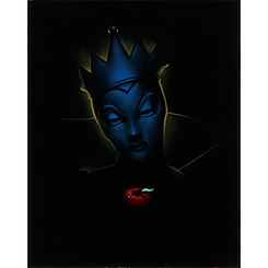 ''Villain Evil Queen'' Giclée by Noah