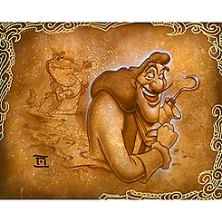 Captain Hook ''Never Smile'' Giclée by Noah