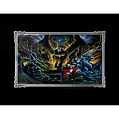 Sorcerer Mickey Mouse ''Great Flood'' Deluxe Print by Noah