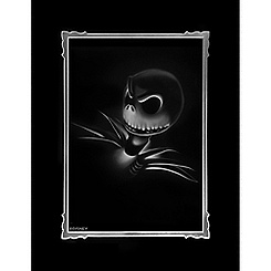 ''Jack - Nightmare Before Christmas'' Deluxe Print by Noah