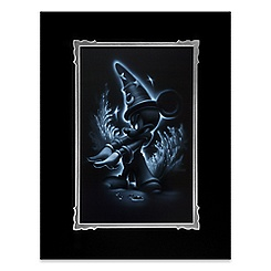 ''Sorcerer Mickey'' Deluxe Print by Noah