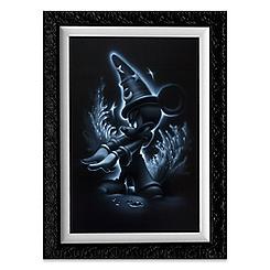 ''Sorcerer Mickey'' Giclée by Noah