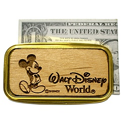 Personalizable Mickey Mouse Money Clip by Arribas