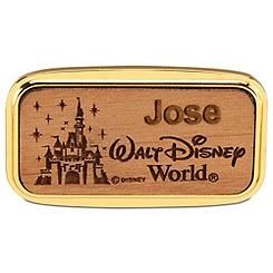 Personalizable Walt Disney World Castle Magnet by Arribas