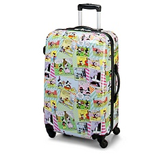 Comic Strip Mickey Mouse Luggage -- 26''