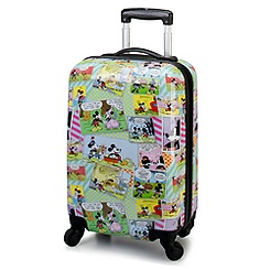 Comic Strip Mickey Mouse Luggage -- 20''